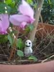 Kodama of Cyclamen by ArielKuran