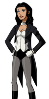Young Justice Invasion Zatanna by Glee-chan