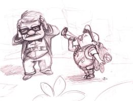 Carl and Russel from UP by nma-art
