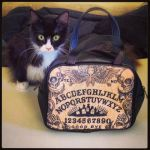 Umami and my Ouija Board handbag by ShayneOtheDead