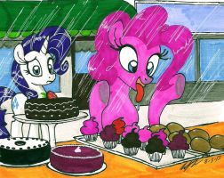 Pinkie Pie Loves Bakeries by newyorkx3