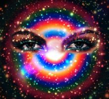 Eyes of the universe by Purple-kat-pixels