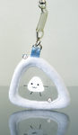 onigiri cellphone strap by onifrogbox