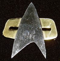 DS9/Voyager Star Fleet Pin by SomethingForEveryone