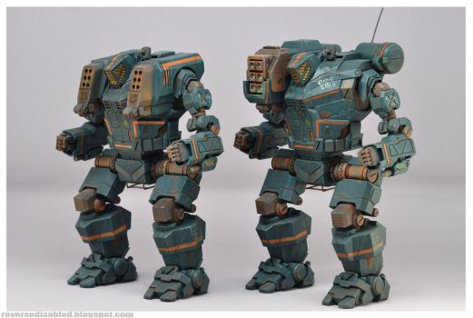 Glamour shots MWO Hunchback 1:60 resin by smtkelly