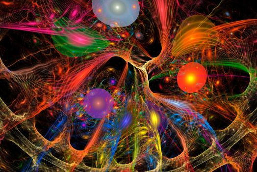 Between Order Lies Chaos - Daily Fractal 4 by freakiebeat