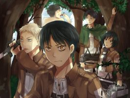 Attack of Titans by ageha1sBf