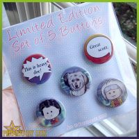 LE BttF Buttons by kuroitenshi13