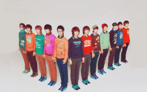 Super Junior SPAO Wallpaper by singthistune