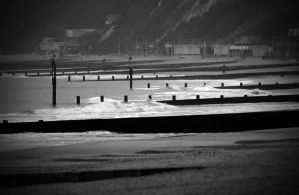 along the groynes by awjay