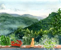 View from Canapali by GoldeenHerself