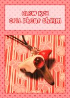 Clow Key Cell Phone Charm by querulousArtisan