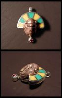 yet another trilobite pendant by morpho2012