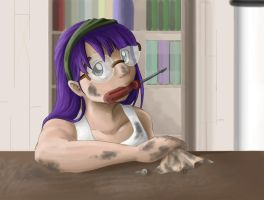 Lucca at work by LadyProphet