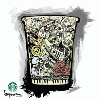 Starbucks Cup by Raskha