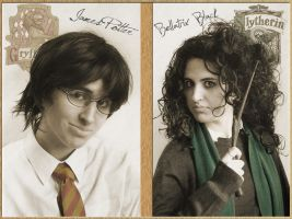 James and Bellatrix by KellyJane