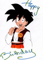 Happy Birthday from Gohan by Pan-Trunks