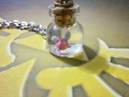 Fairy In a Bottle Necklace - Legend Of Zelda by Cryssy-miu