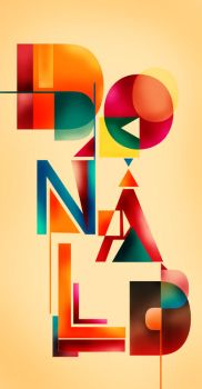 typography of mine by donaldfunq