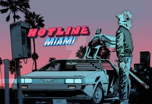 Hotline Miami by JonasScharf