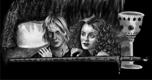 TMI: Clary+Jace - WIP+6 by jeminabox