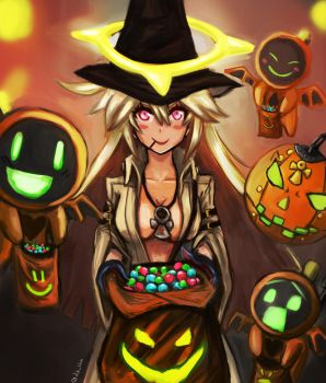 TRICK OR TREAT! Jack O Guilty Gear by Returning-Blue