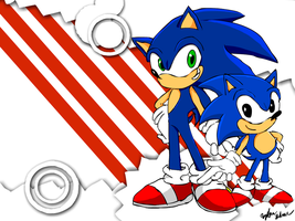 Sonic Generations by ghostanjo