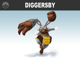 Diggersby Digs In! by locomotive111
