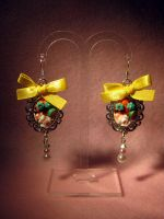 Fruit Cake Earring Dangle 03 by fleur-de-mirage
