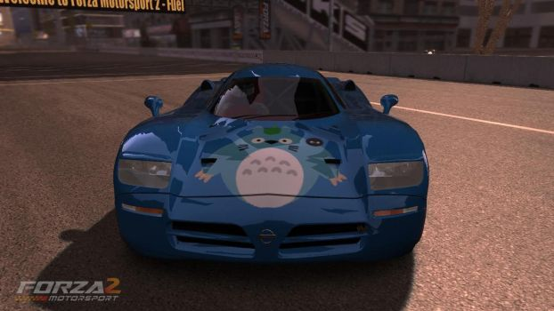 Forza Totoro Car: Front by saved2play