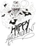 Happy Halloween! '12 by Elektrosmurf
