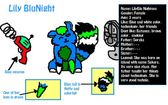 .:LilyBlu Night:. referencesheet by LittlePanda982