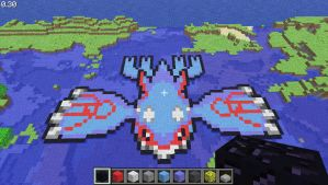 Minecraft- Kyogre by Digillama