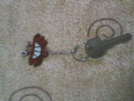 Wilt key ring by Atrixfromice
