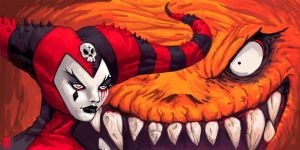 Devils Clown by Humanis by MAROK-ART