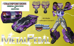 Transformers OC MetalPedal by OnyxPen