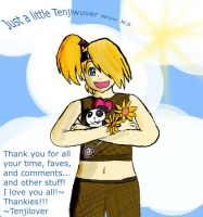 Thank you all by Tenjilover