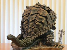 Kaibutsuya Gamera What the Shell Are you Doing? by Legrandzilla