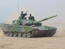 Chinese Type 99 tank by ShitAllOverHumanity