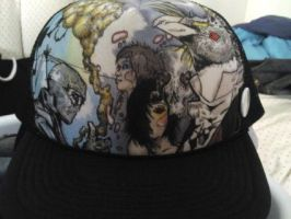 Custom Trucker Hat by Blvdnit3