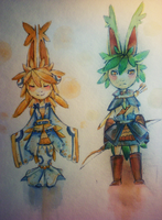 Watercolored by Tuooneo