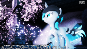Diamond Bright the Zenyu Horse by JarusKais