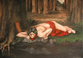 Narcissus by Spike-Salute