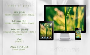 Blade Of Grass Wallpaper Pack by interiornoise