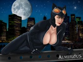 Cat Woman by Almerious