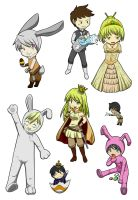 Easter chess - now colored xD by vividfantasy7