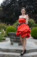 Red Satin 1 by Anariel-Stock