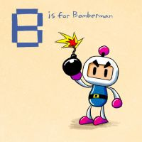 B is for Bomberman by KeithAErickson
