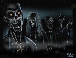 ZOMBIES by rdricci