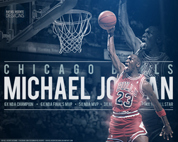 Michael Jordan by RafaelVicenteDesigns